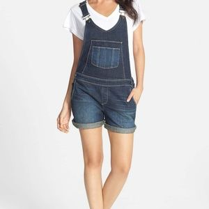 Paige Jeans Overall Shorts